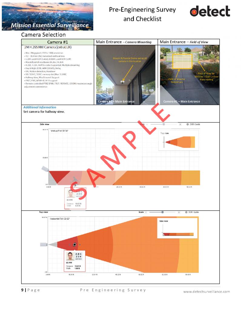 Pre Engineering Survey and Checklist SAMPLE_Page_09