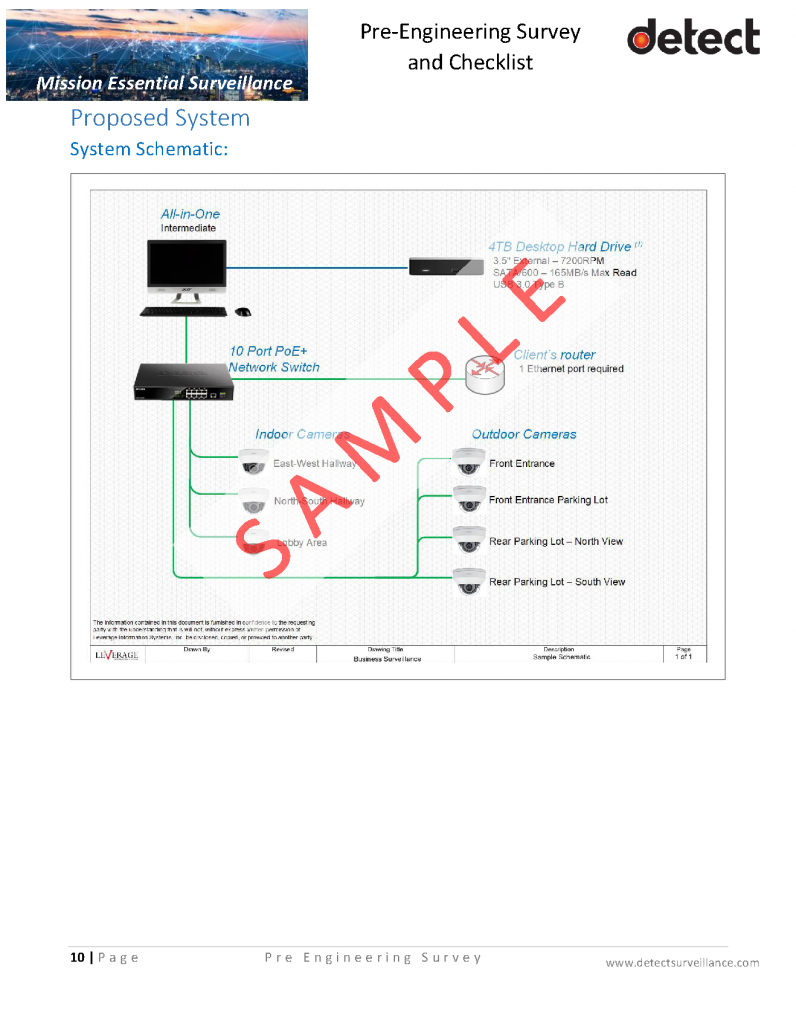 Pre Engineering Survey and Checklist SAMPLE_Page_10