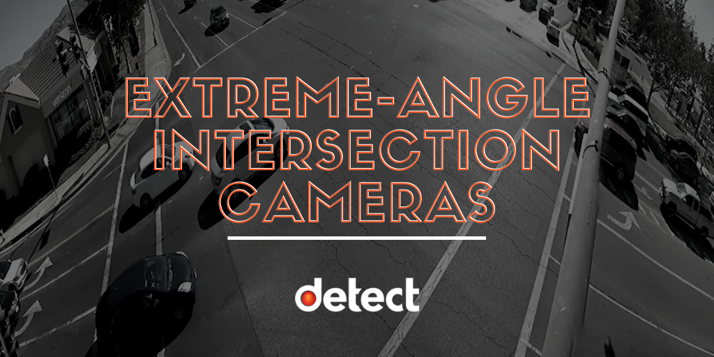Extreme Angle Intersection Cameras